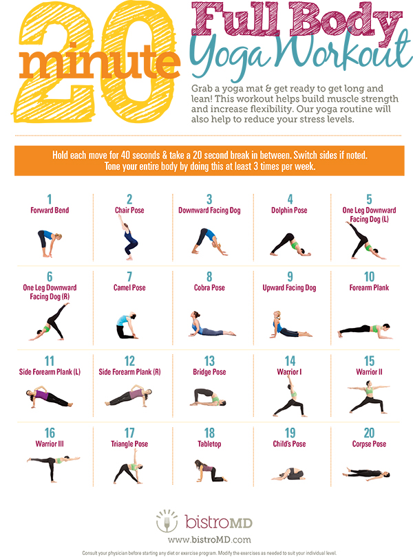20 Minute Full Body Yoga Workout